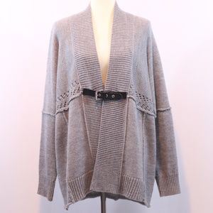 Micheal Kors Belted Cardigan Sweater